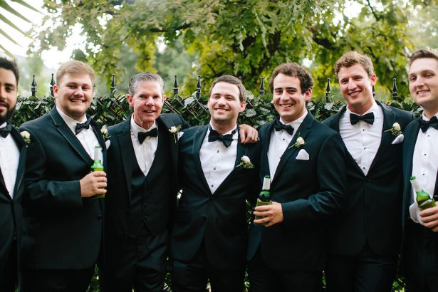 Groomsman Tuxedos - Paige Vaughn Photography