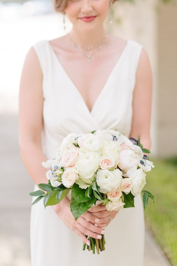 Ivory Wedding Bouquet - Paige Vaughn Photography