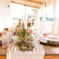Rustic Elegance Wedding Centerpiece - Alexi Lee Photography