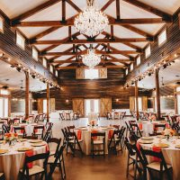 Rustic Wedding Reception - Two Pair Photography