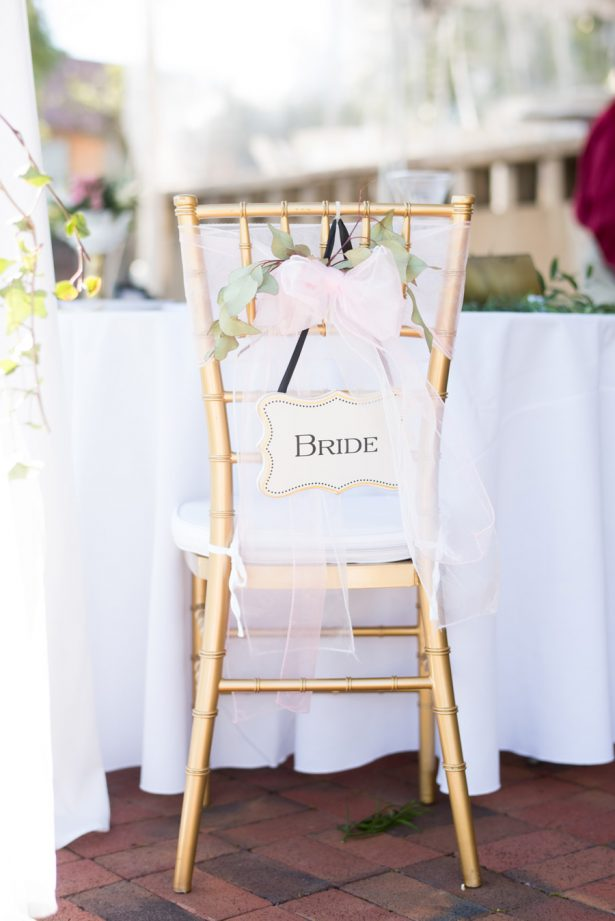 Wedding Chair - Shane Hawkins Photography