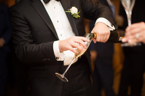 Wedding Champagne - Paige Vaughn Photography