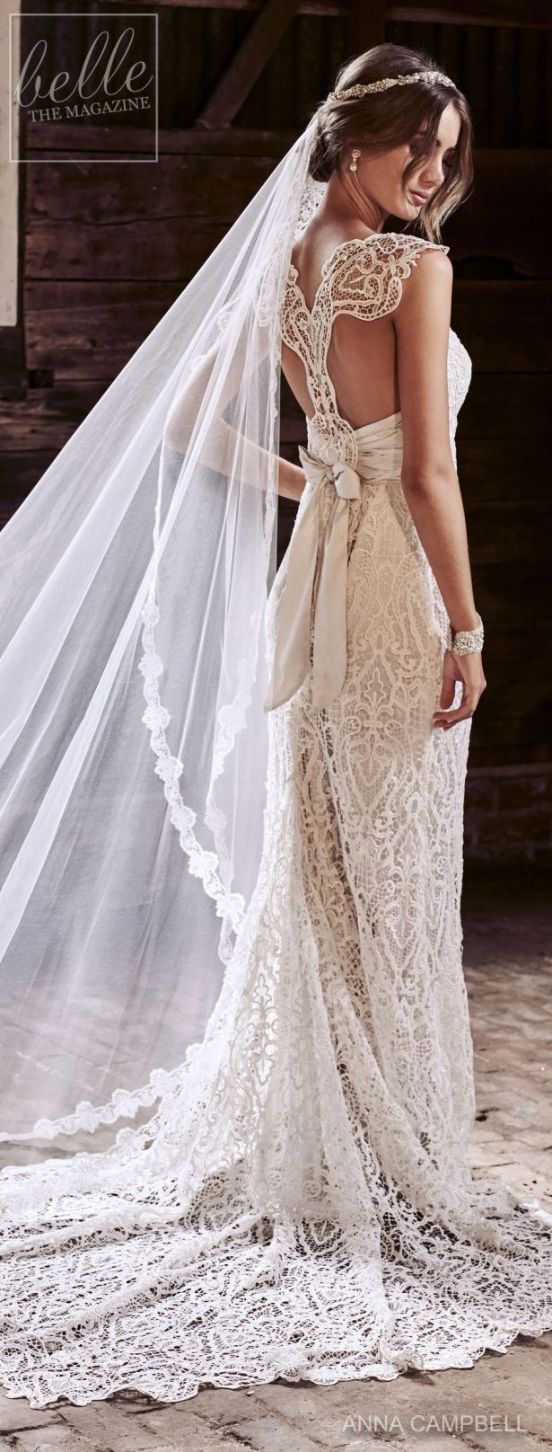 Wedding Dress by Anna Campbell Eternal Heart collection 2018