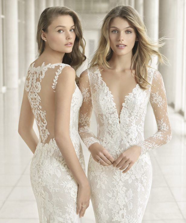 Wedding Dresses by Rosa Clará Couture 2018 Bridal Collection