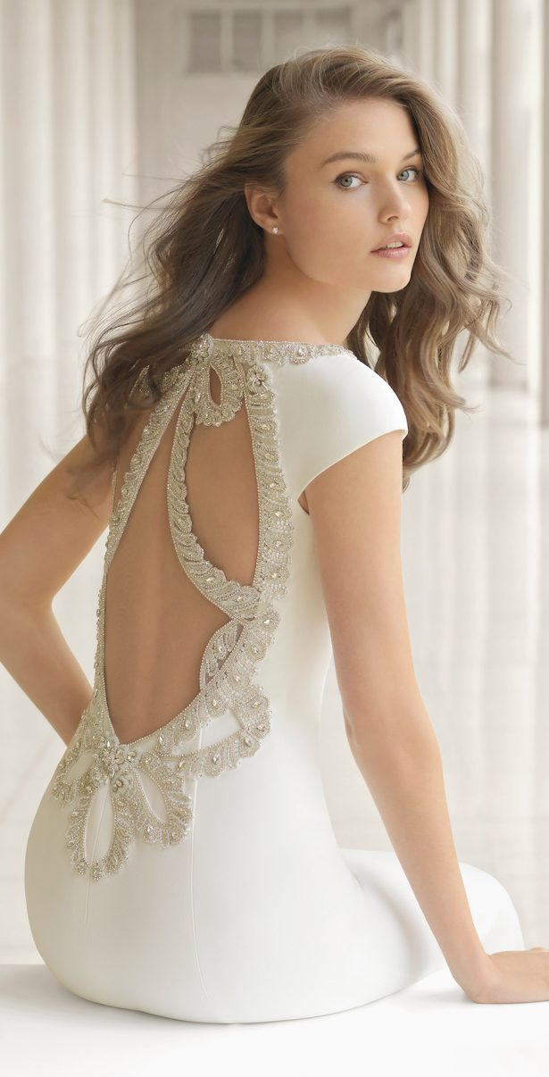 Wedding Dress by Rosa Clará Couture 2018 Bridal Collection - POVEDA