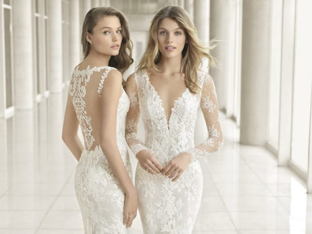 Rosa Clará Couture 2018 Bridal Collection: A line up of Stunning Statement Backs