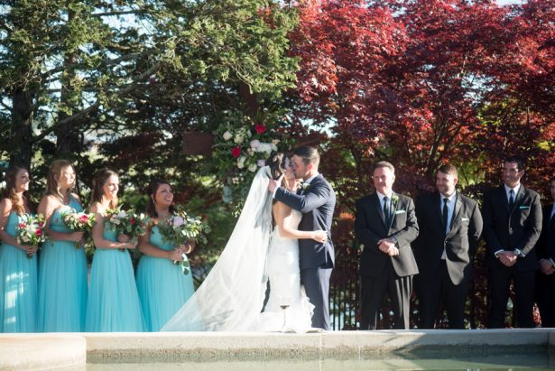 Wedding First Kiss - Shane Hawkins Photography