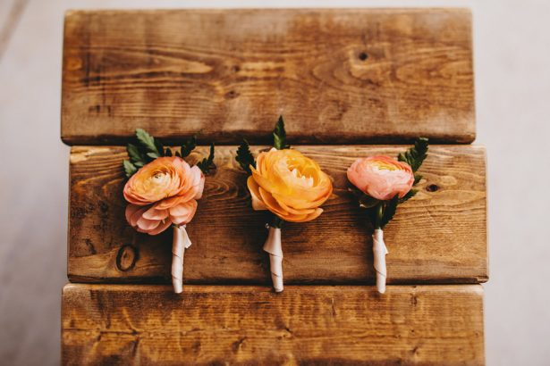 Wedding Boutonnieres - Two Pair Photography