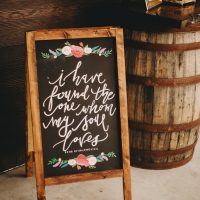 Wedding Sign - Two Pair Photography