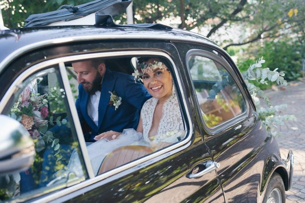 Wedding car - Photography: Irene Fucci