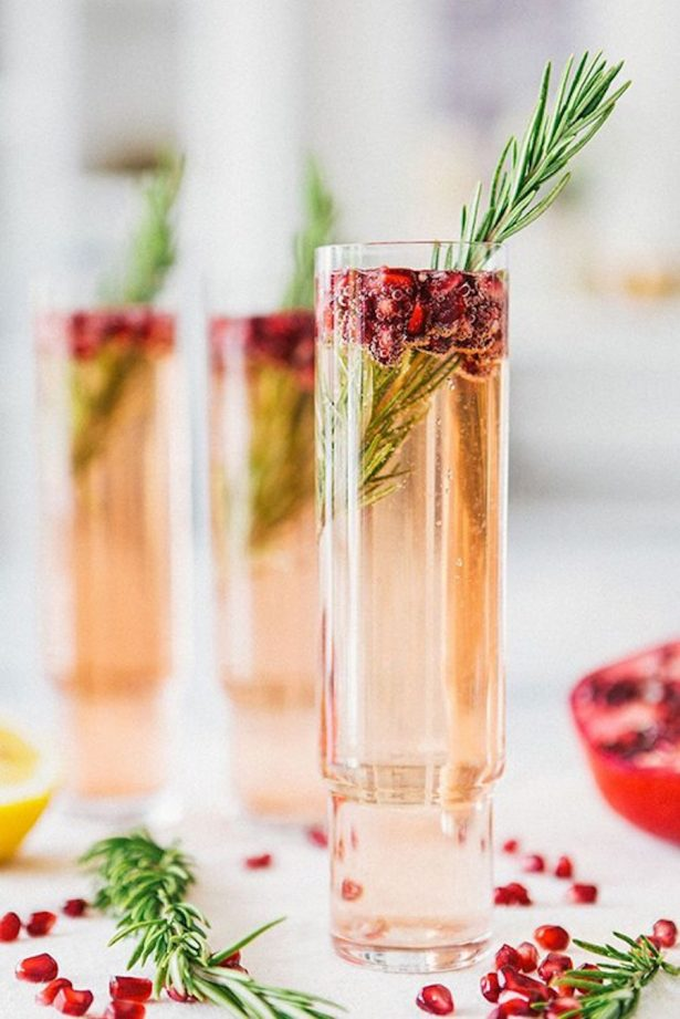Wedding signature Drink - Photo: A House in the Hills