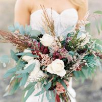 Wild Wedding Bouquet - Sheri McMahon Photography