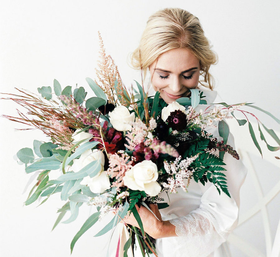 Winter Bridal Style - Cover - Sheri McMahon Photography