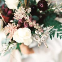 Winter Wedding Bouquet- Sheri McMahon Photography