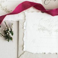 Winter Wedding Invitations - Sheri McMahon Photography