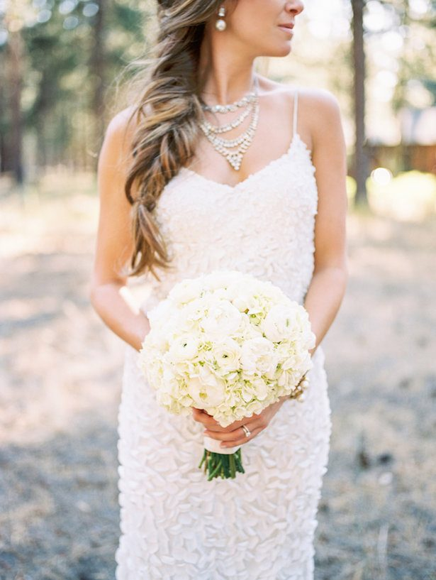 Bridal Bouquet - All White Wedding Ideas - 020. Luxe Event Productions - Amanda k Photoart