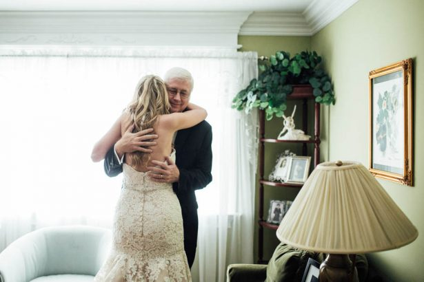 Beautiful Bride and Father of the Bride Photography - Esvy Photography