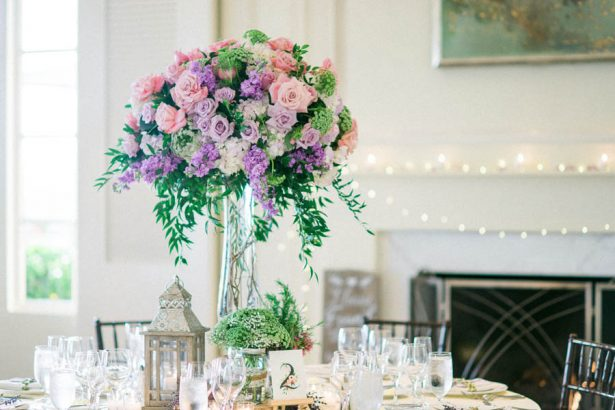 Tall Wedding Centerpiece - Donna Lams Photo