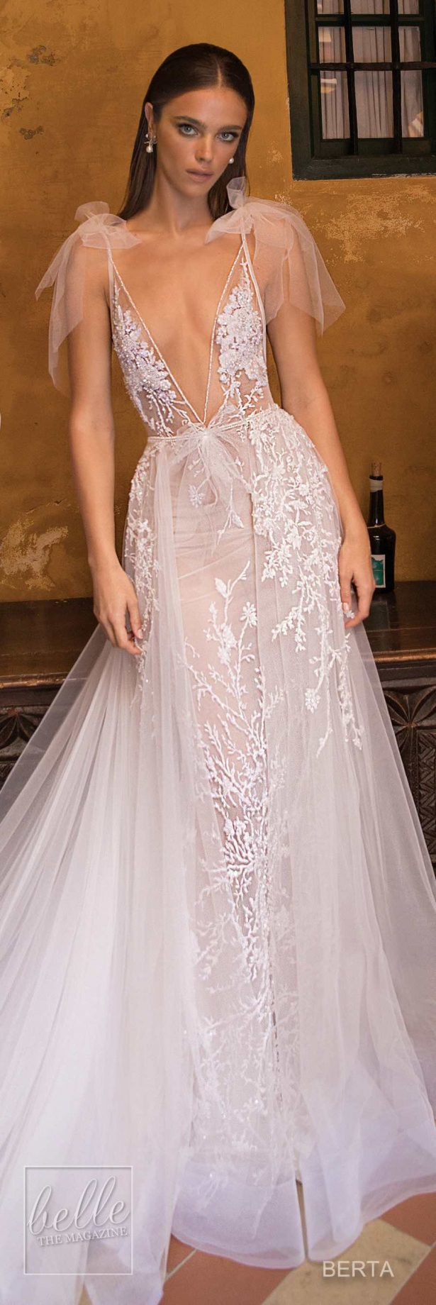 Berta Seville Wedding Dress Collection #weddingdress #bridalgown