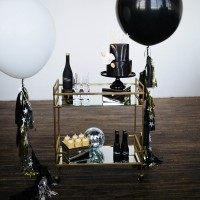 How to style a bar cart - Sparrow and Gold