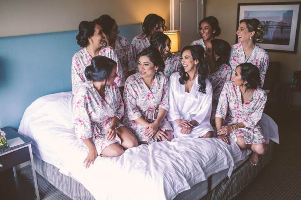 Bridal Party Robes - Julian Ribinik Photography
