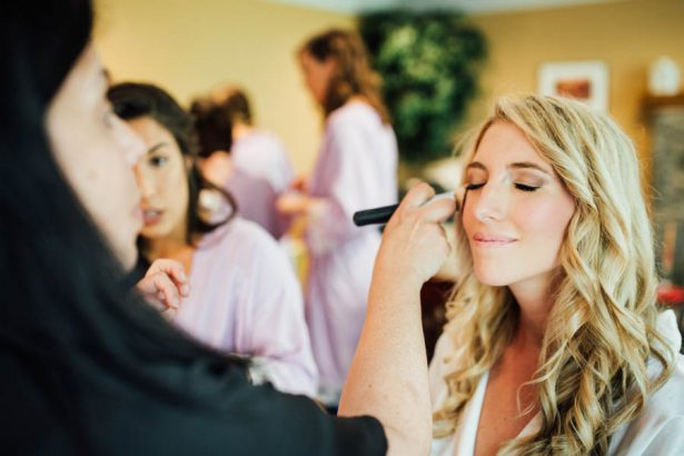 Bride Getting Ready - Esvy Photography