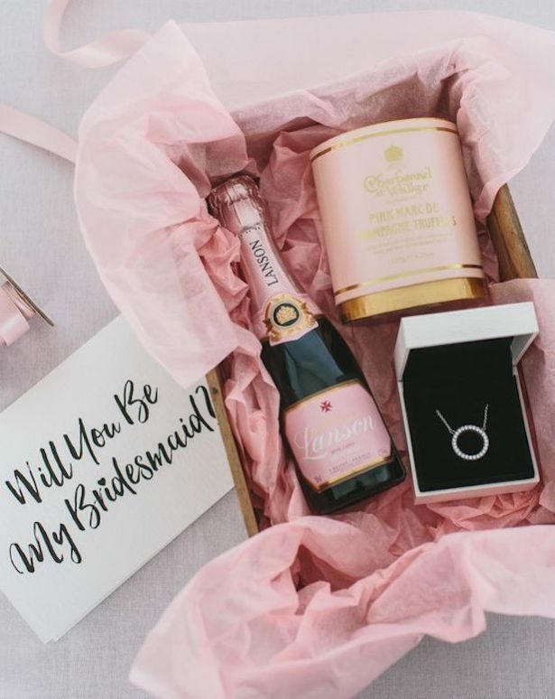Bridesmaid Proposal Box