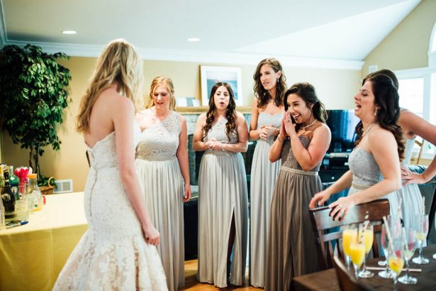 Bridesmaids Getting Ready - Esvy Photography