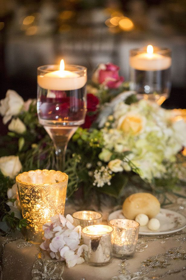 Classic Wedding Centerpiece- Anna Schmidt Photography