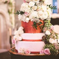 Floral Wedding Cake - Julian Ribinik Photography