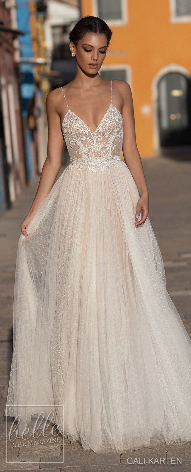 Gali karten wedding dresses 2018 burano bridal collection Wedding dress themes 2018