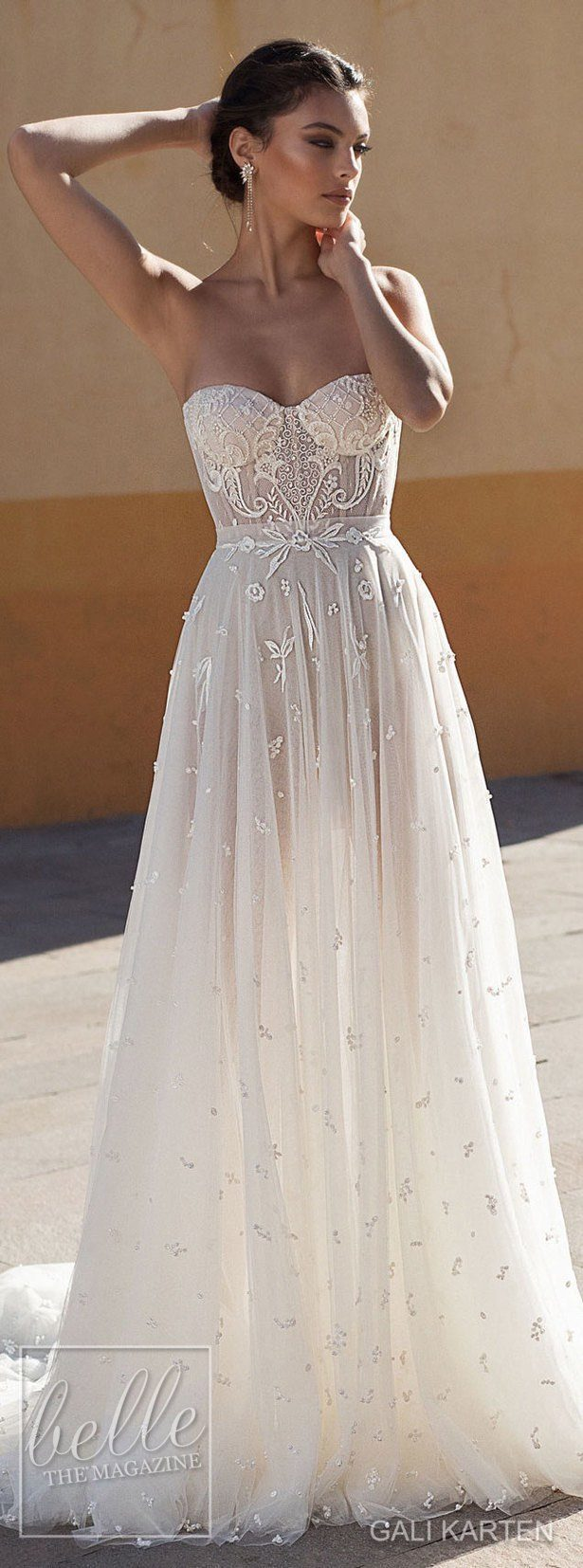 685ecafba49 ... Gali Karten Wedding Dress 2018 - Burano Bridal Collection ...