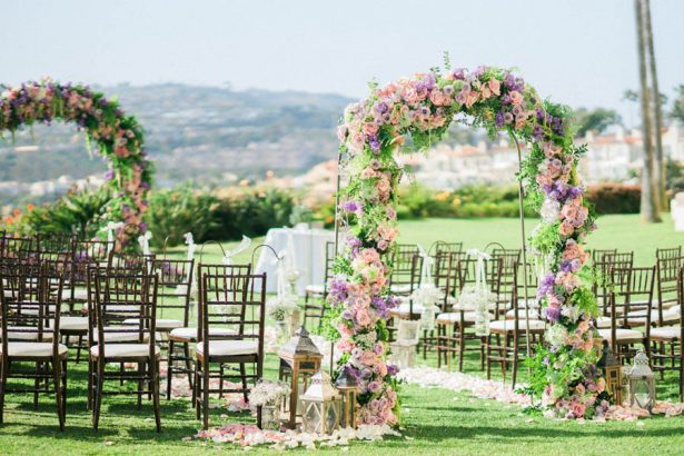 Garden Wedding Arch - Donna Lams Photo