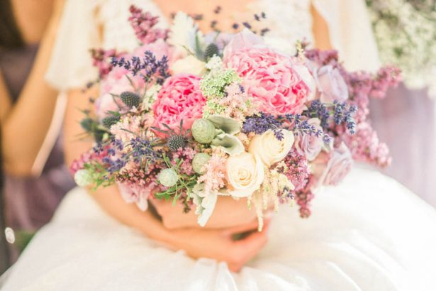 Purple Wedding Bouquet - Donna Lams Photo