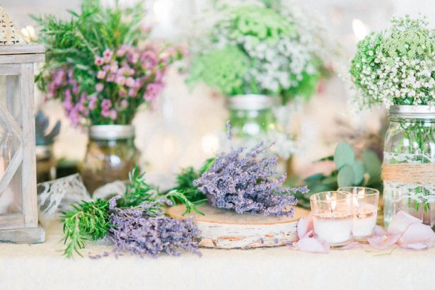 Garden Wedding Decor - Donna Lams Photo