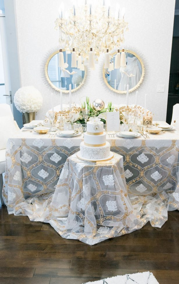 Glamorous Wedding Decor - Lula King Photography