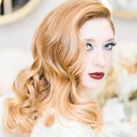 Glamorous Wedding Hair - Lula King Photography