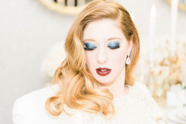 Glamorous Wedding Makeup - Lula King Photography