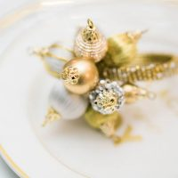 Glamorous Wedding Plate Setting Decor - Lula King Photography