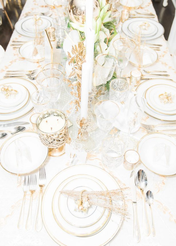 Glamorous Wedding Tablescape - Lula King Photography