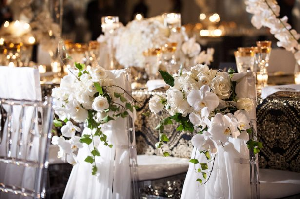 Glitz and Glam Wedding Ideas - NYE - 004. Alchemy Event Studio - Reichman Photography - Rentals: Event Rentals Unlimited - Linens: I Do Linens