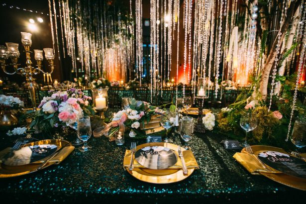 Glitz and Glam Wedding Ideas - NYE - 005. Amy Burke Designs - Wild About You Photography