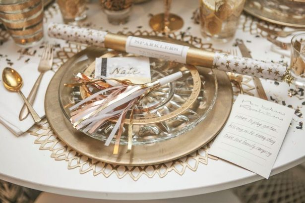 Glitz and Glam Wedding Ideas - NYE - 006. Archive Specialty Rentals - Kristina Lee Photography