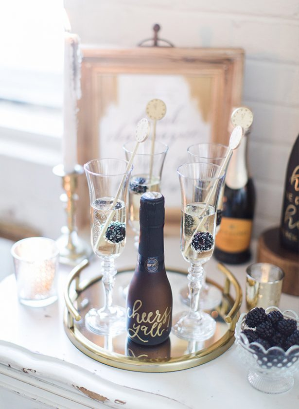 Glitz and Glam Wedding Ideas - NYE - 016. Image via Inspired By This - Katie Nesbitt Photography - Event Design by Designed Perfectly Events