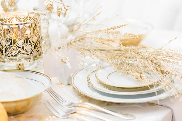 Gold Wedding Decor - Lula King Photography