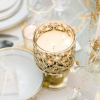 Gold Wedding Decor Details - Lula King Photography