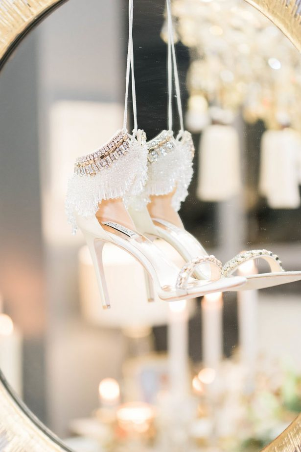 Gold Wedding Shoes - Lula King Photography