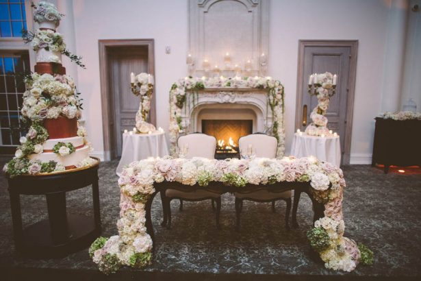 Gorgeous Sweetheart Table - Julian Ribinik Photography