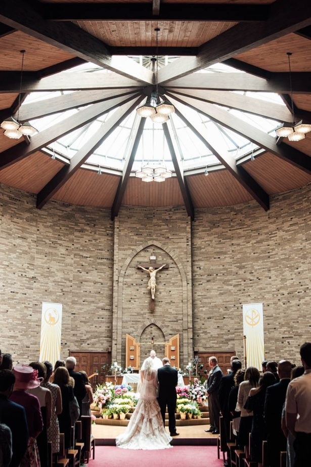 Gorgeous Wedding Church Ceremony - Esvy Photography