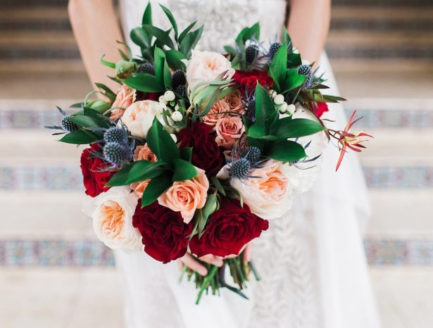 Stunning Winter Wedding Inspiration with Mosaic Infused Details